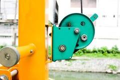 Abziehvorrichtung des grünen Gürtels Stockfoto