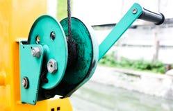 Abziehvorrichtung des grünen Gürtels Stockbilder