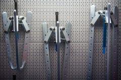 Abziehvorrichtungswerkzeugdetail Lizenzfreies Stockfoto