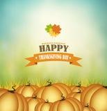 Acção de graças feliz Imagens de Stock