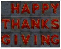 Acção de graças feliz Imagem de Stock
