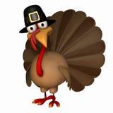 Acção de graças Turquia 4 de Toon Fotos de Stock