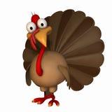 Acção de graças Turquia de Toon Fotos de Stock