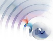 Acústico contra blanco Imagen de archivo libre de regalías