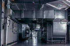 ac, airconditioning, installatie roiom, industriële ventilatie royalty-vrije stock afbeeldingen