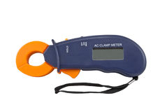 AC clamp meter Stock Photography