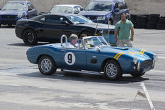 Ac cobra drag Royalty Free Stock Photography