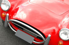 AC Cobra front angle Royalty Free Stock Photos