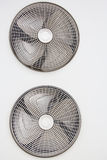 AC condenser fan. Stock Photos