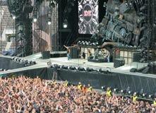 AC/DC auf Ausflug Lizenzfreies Stockfoto
