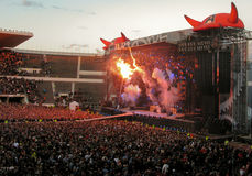 AC/DC auf Ausflug Lizenzfreie Stockfotografie