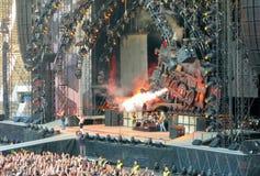 AC/DC auf Ausflug Stockbild