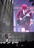 AC\DC in concert, Black Ice Tour Stock Images