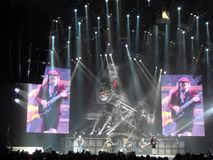 AC\DC in concert, Black Ice Tour, NYC Royalty Free Stock Images