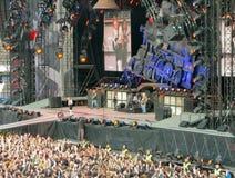 AC/DC na excursão Fotografia de Stock