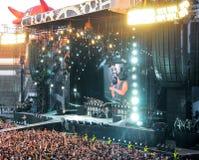 AC/DC op reis 2009, Helsi Stock Afbeeldingen