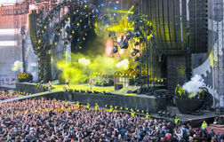 AC/DC on Tour Stock Image