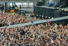 AC/DC on Tour Royalty Free Stock Photography