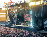 AC/DC on Tour Royalty Free Stock Image