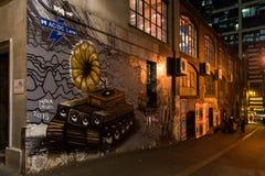 AC-/DCweg Melbourne Lizenzfreies Stockbild