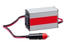 AC gelijkstroom elektrische omschakelaarsdoos Stock Afbeeldingen
