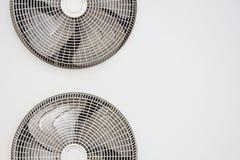 AC kondensatorowy fan Fotografia Stock