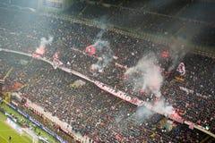 AC Mailand coreography Stockbilder