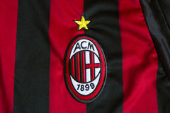 AC Mailand-Emblem Lizenzfreies Stockbild