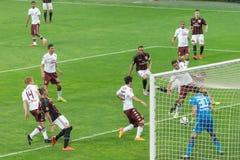 AC Mailand gegen Torino FC im Jahre 2015 Stockfoto