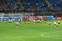 AC Mailand gegen Torino FC im Jahre 2015 Lizenzfreie Stockfotografie