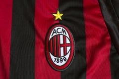 AC Milaan embleem Stock Afbeelding