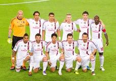 AC Milaan spelers stock afbeeldingen