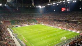 AC Milan contro Shkendija Immagine Stock