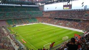 AC Milan contro Shkendija Fotografia Stock