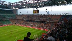 AC Milan contro Shkendija Fotografia Stock Libera da Diritti