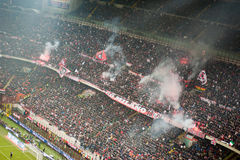AC Milan coreography Stock Images