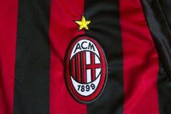 AC Milan emblem royaltyfri bild