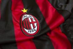 AC Milan emblem royaltyfri foto