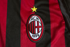 AC Milan emblem stock image