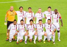 AC Milan players Stock Images