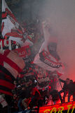 Ac Milan Supporter Royalty Free Stock Images
