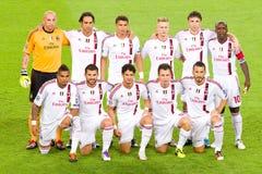 AC Milan team Royalty Free Stock Photos
