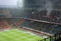 AC Milan Ultras  Stock Photo