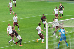 AC Milan vs Torino FC in 2015 Stock Photo