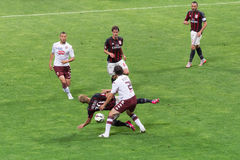 AC Milan vs Torino FC in 2015 Royalty Free Stock Image