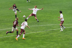 AC Milan vs Torino FC in 2015 Royalty Free Stock Photo