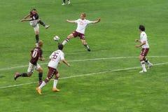 AC Milan vs Torino FC in 2015 Royalty Free Stock Photo