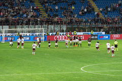 AC Milan vs Torino FC in 2015 Royalty Free Stock Photography
