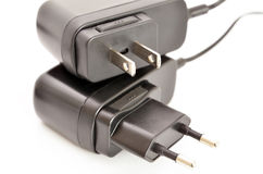 AC power adapter plug Royalty Free Stock Photo