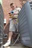 AC Repair Man stock images